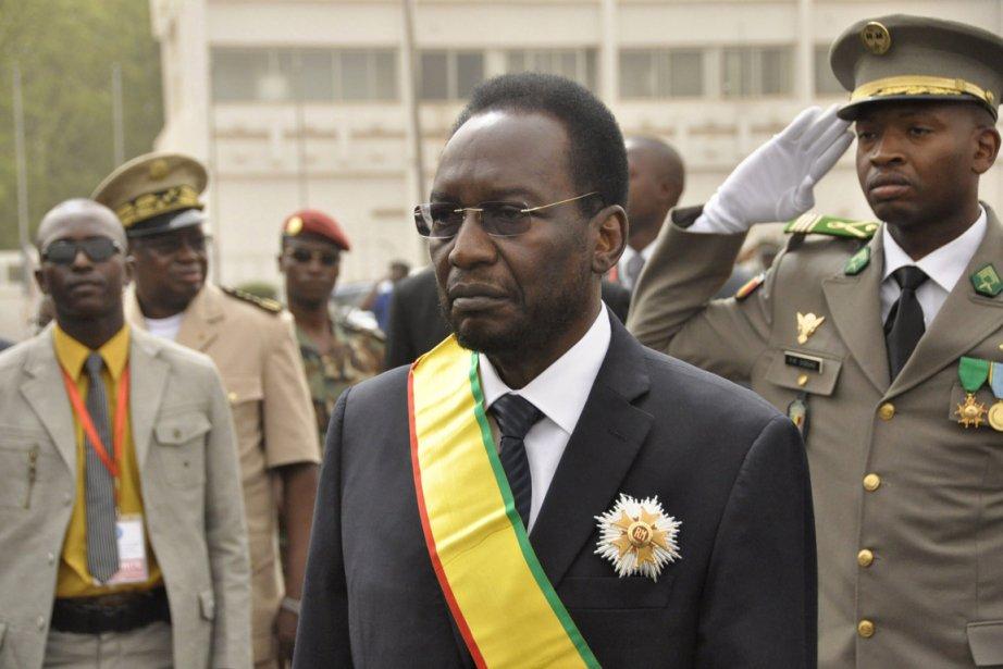 Le  nouveau président malien de transition Dioncounda... (HABIBOU KOUYATE, AFP)