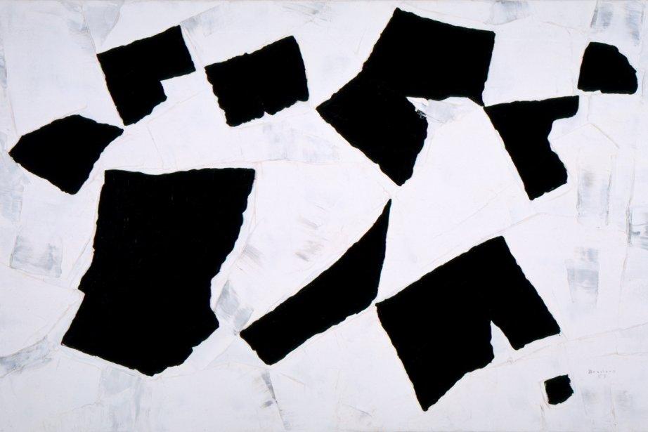 Le MAC célébre trois quarts de siècle d'abstraction... (Photo fournie par le Musée d'art contemporain)