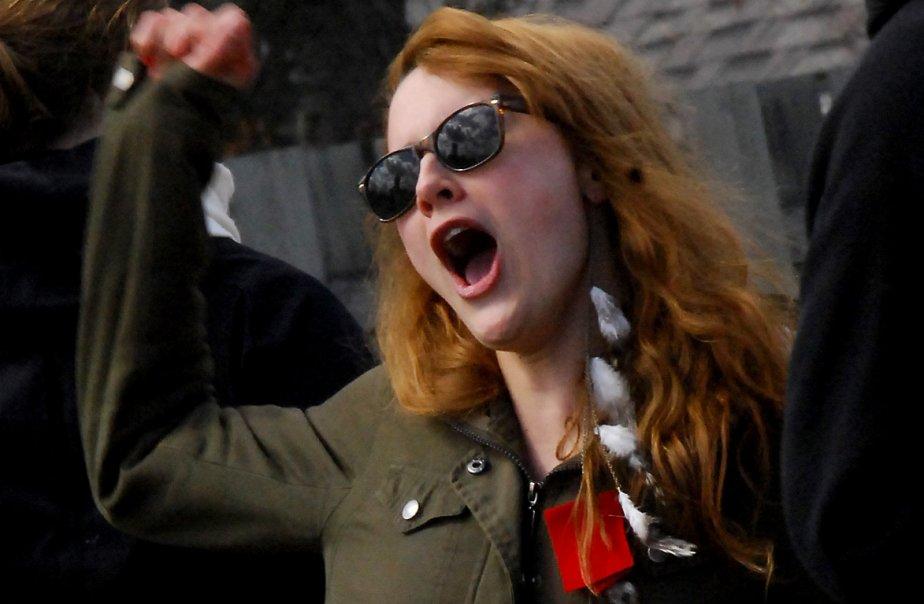 La grève des étudiants se poursuit.... (Photo Le Quotidien)