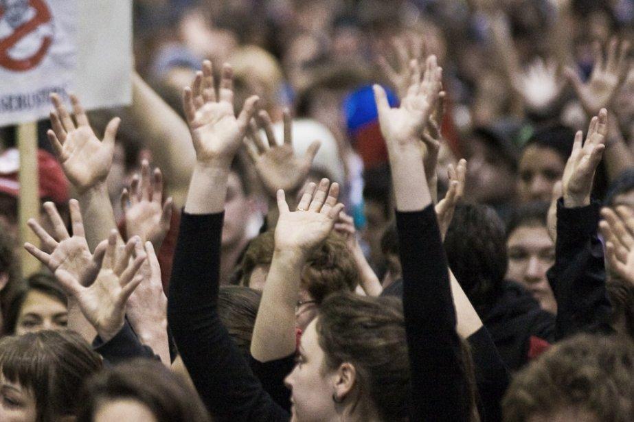 Si les associations étudiantes sont vraiment sérieuses, le... (Photothèque La Presse)