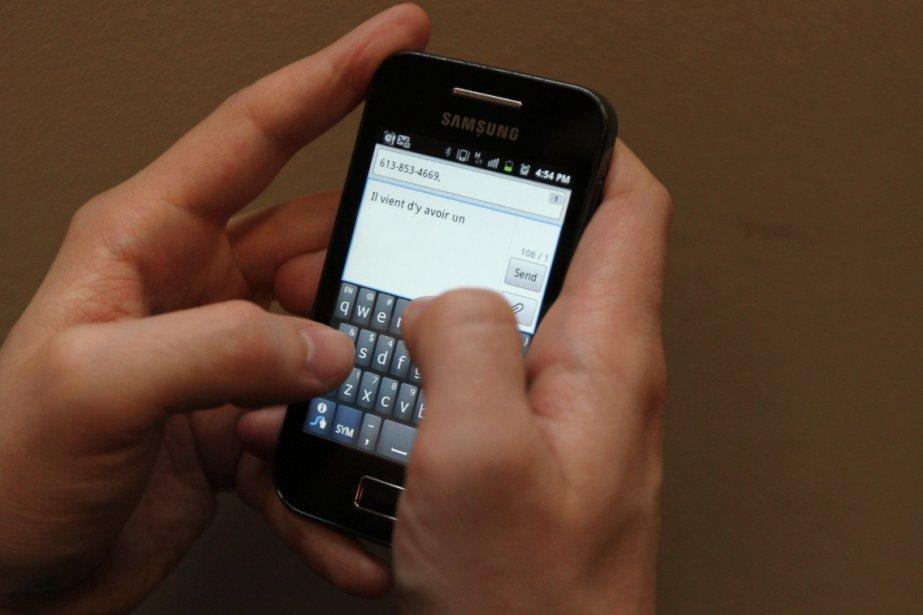 Les adolescents qui envoient des «sextos», SMS à... (Photothèque Le Droit)