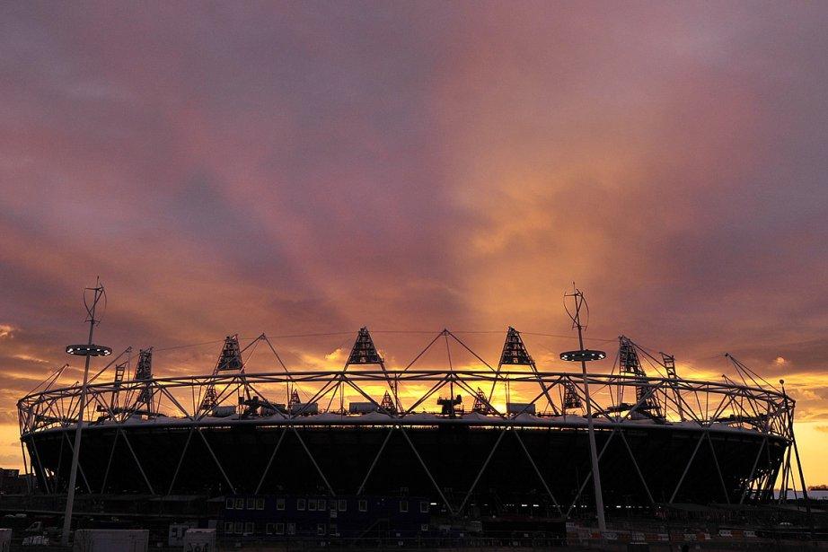 Le stade olympique planté dans l'est de Londres,... (Photo: Reuters)