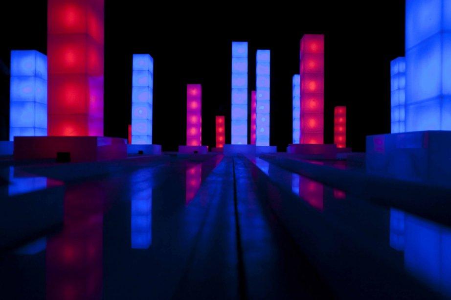 Biennale d 39 art num rique l 39 art du futur le futur de l for Neon artiste contemporain