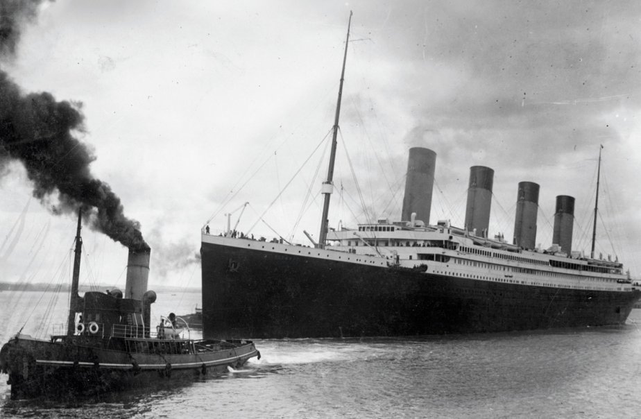 Le Titanic au départ deSouthampton.... (Photo AFP)
