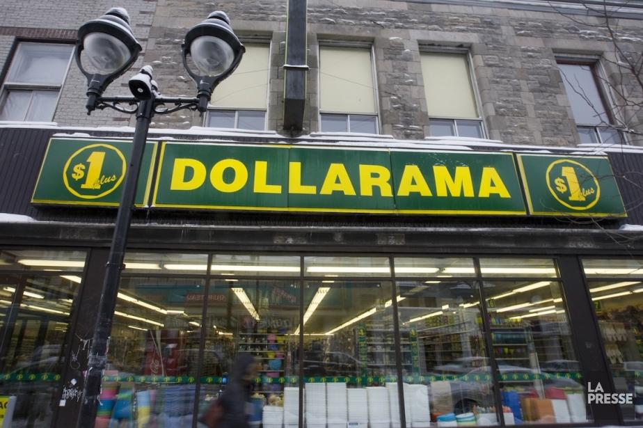 Un magasin Dollarama, sur l'avenue du Mont-Royal.... (Photo François Roy, archives La Presse)