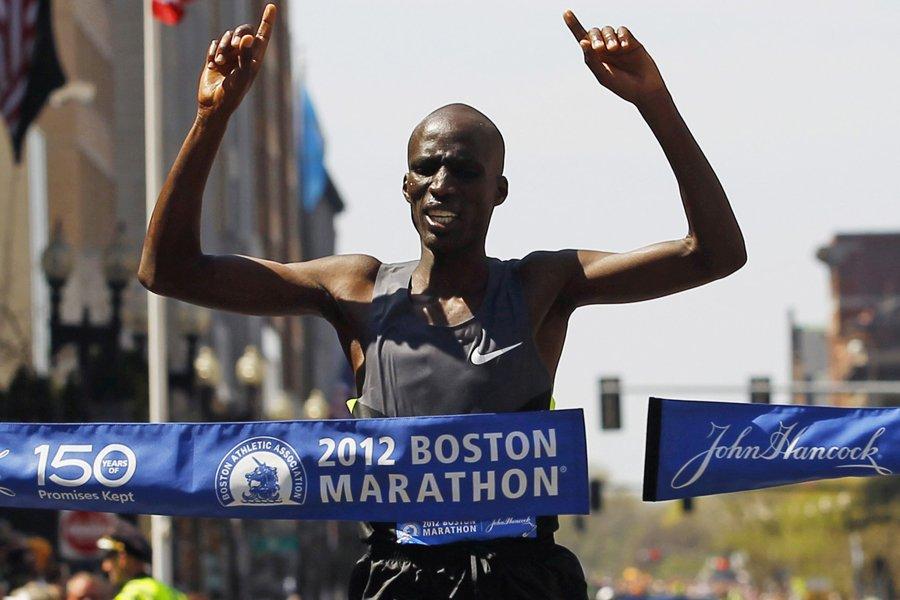 Le Kényan Wesley Korir a remporté la 116e... (Photo: Reuters)