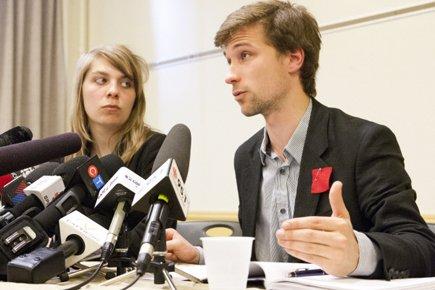 Le co-porte-parole de la CLASSE, Gabriel Nadeau-Dubois, a... (Photo: Ninon Pednault, La Presse)