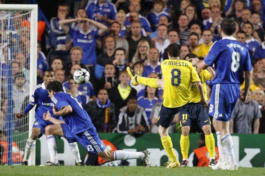 Un but d'Andres Iniesta à la dernière seconde... (Photo: archives AP)