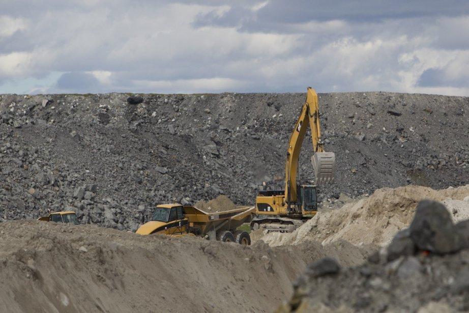 Plusieurs projets miniers devraient voir le jour dans... (Photo Hugo-Sébastien Aubert, archives La Presse)