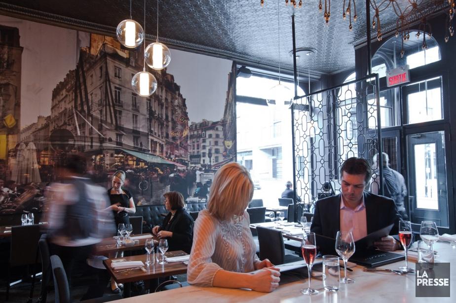 Le restaurant Les 400 coups.... (Photo d'archives David Boily, La Presse)