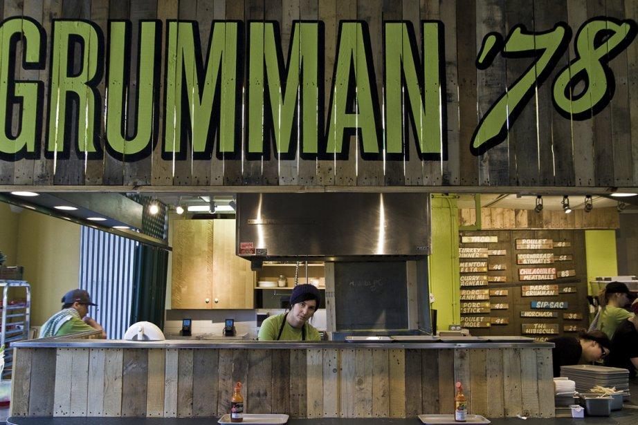 Grumman 78... (Photo La Presse)