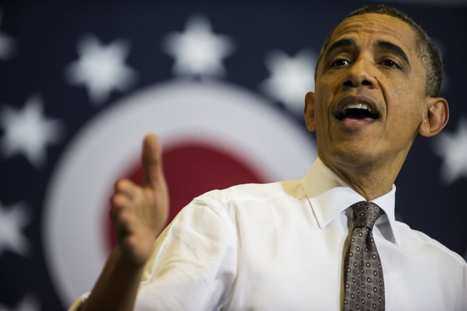 Barack Obama s'en prend à son probable adversaire... (Photo Brendan MIALOWSKI, AFP)