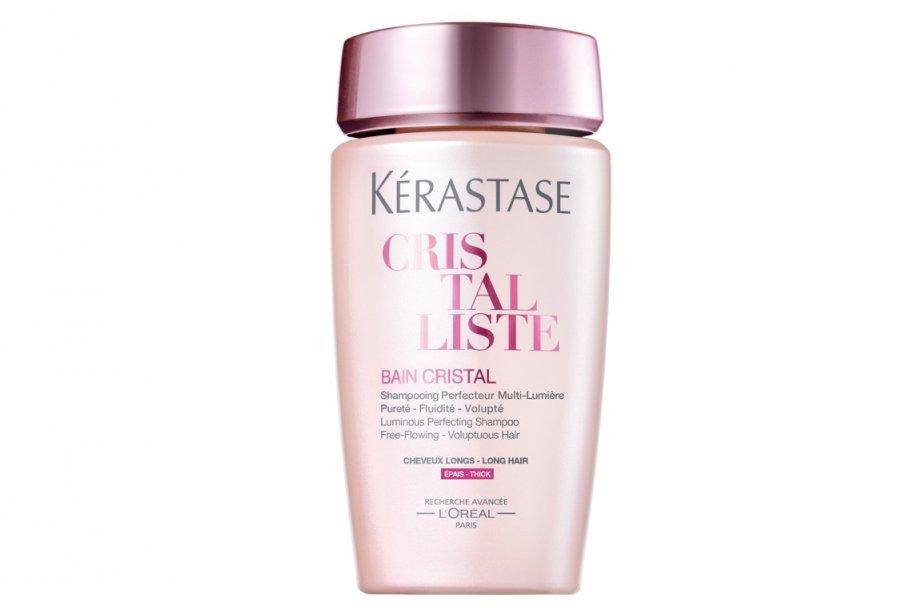 La marque de produits capillaires Kérastase lance Cristalliste, nouvelle gamme...