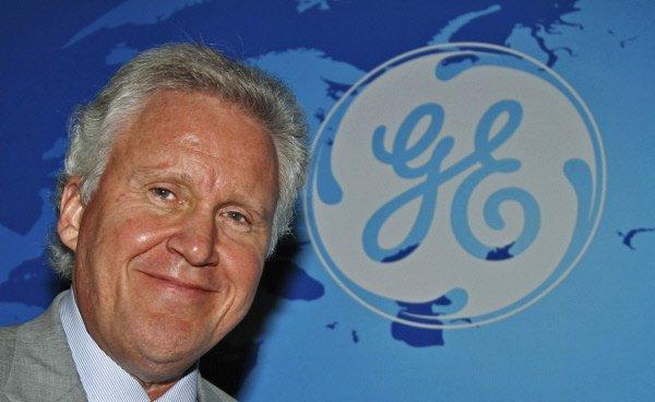 Le PDG de GE, Jeff Immelt...