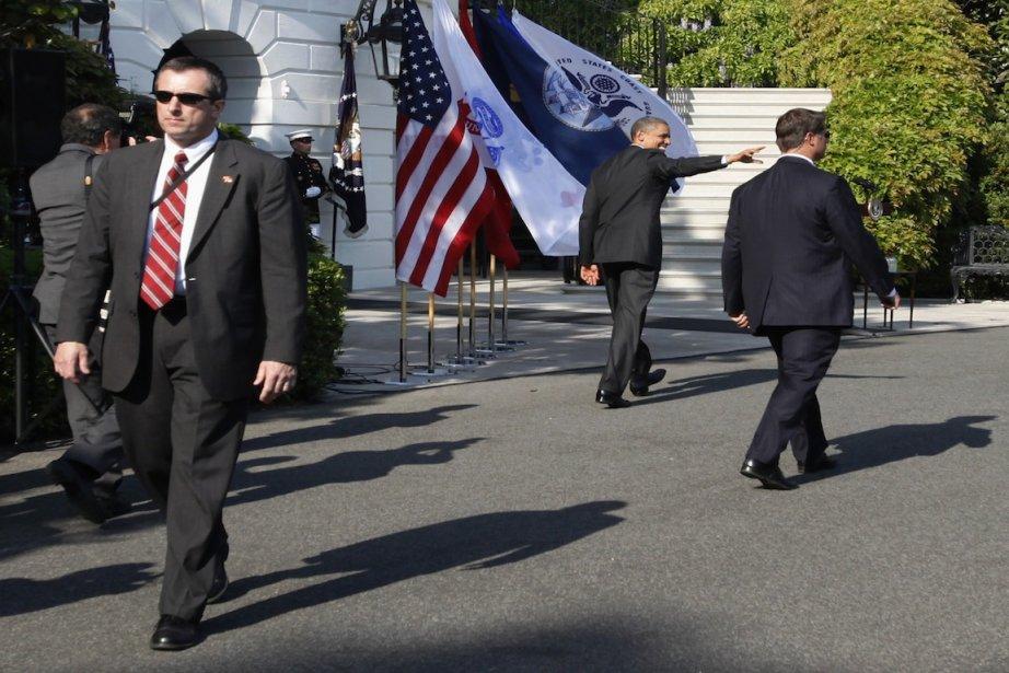 Janet Napolitano a insisté sur le fait qu'au-delà... (Photo Jaspn Reed, Reuters)