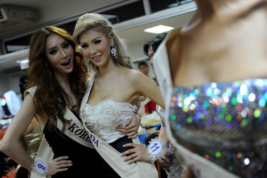 Les transsexuels ne devraient pas être obligés de subir une... (Photo AFP)