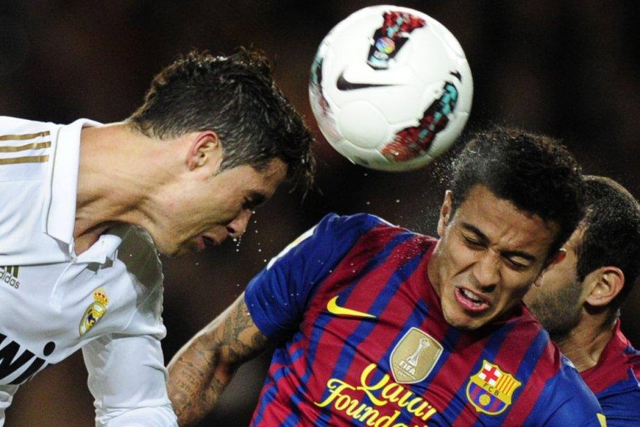 Cristiano Ronaldo (à gauche) a aussi amélioré son... (Photo : Javier Soriano, AFP)