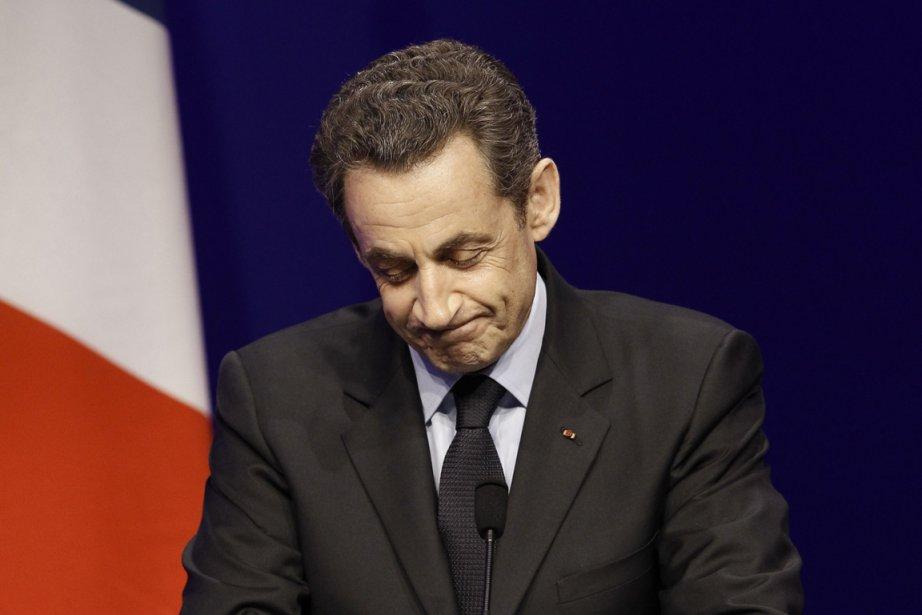 Nicolas Sarkozy n'a pas su trouver le bon... (Photo Kenzo Tribouillard, AFP)