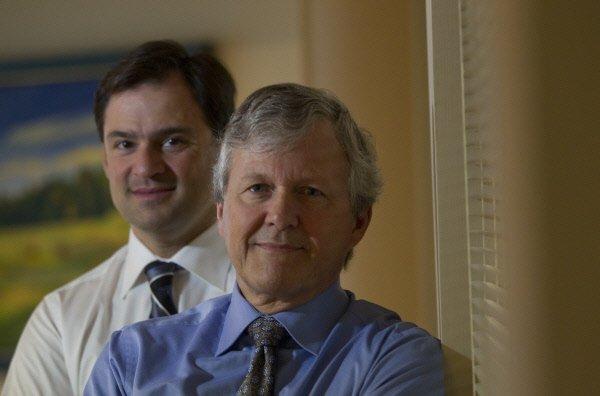 Pascal Tremblay et Jacques Foisy, respectivement président deNovacapTechnologies...