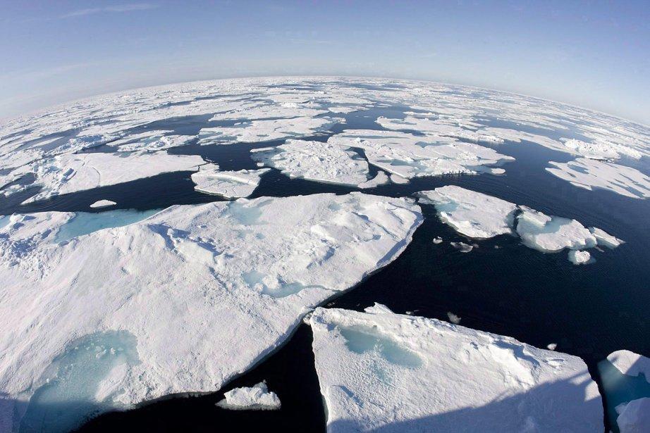 L'océan Arctique.... (Photo: archives PC)