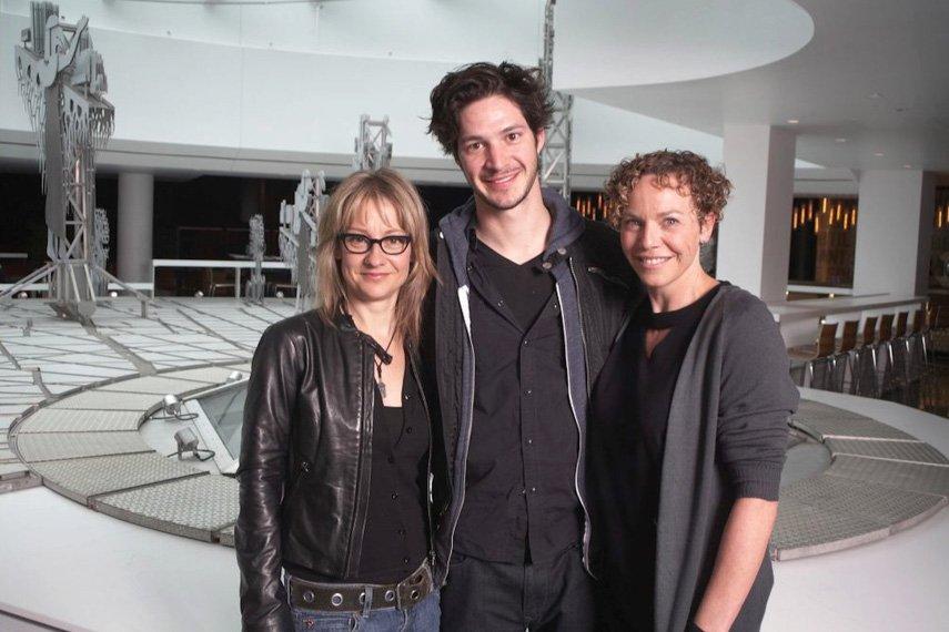 Nathalie Mallette, Éric Bruneau et Macha Limonchik font... (Photo: fournie par Duceppe)