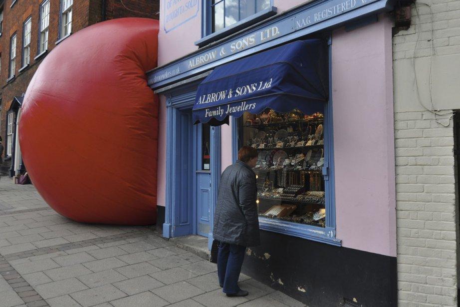 RedBall à Norwich....