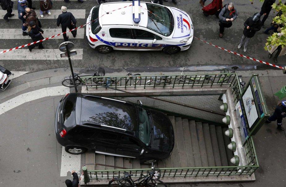 Comme il roulait lentement, l'automobiliste a immédiatement freiné... (Reuters)