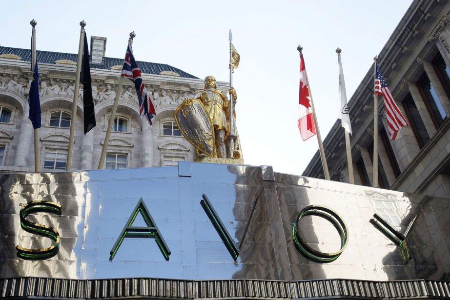 Hôtel Savoy à Londres, où la ministre de... (Photo PC)