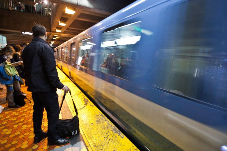 Le métro de Montréal a... (Photo Édouard Plante-Fréchette, archives La Presse)
