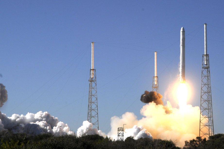 La société américaine SpaceX a confirmé mardi que le... (Photo archives AFP)