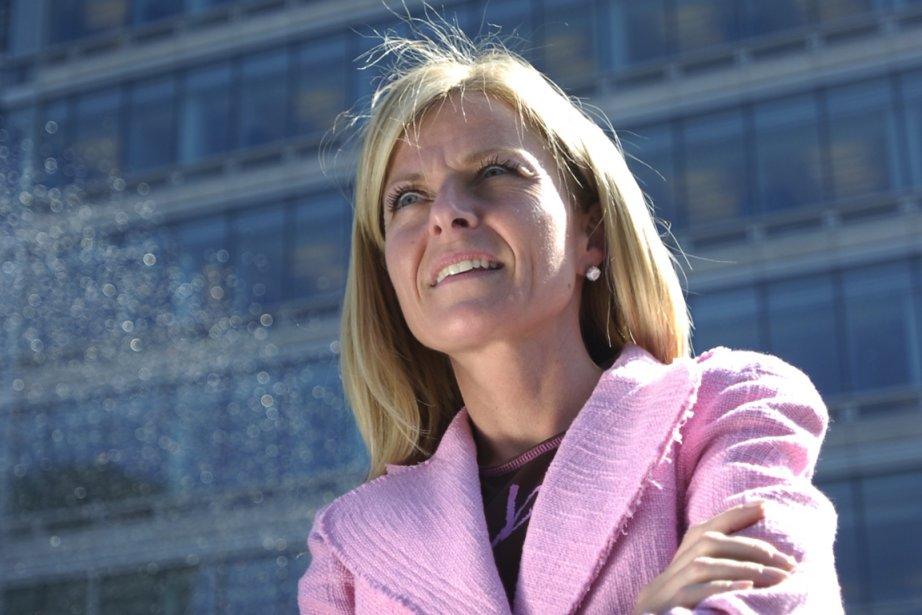 Isabelle Hudon, présidente de la Financière Sun Life,... (Photo Patrick Sanfaçon, archives La Presse)