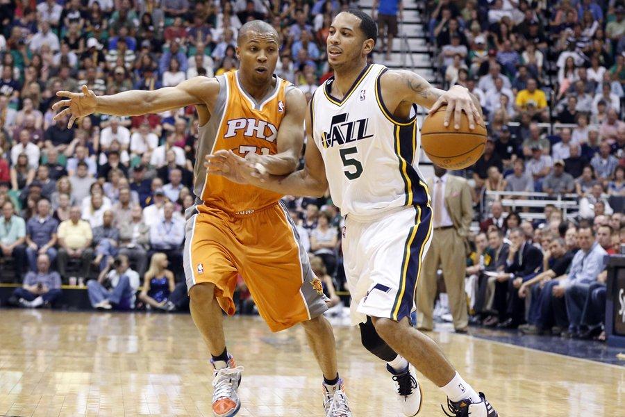 Le Jazz de l'Utah a battu les Suns... (Photo: AP)