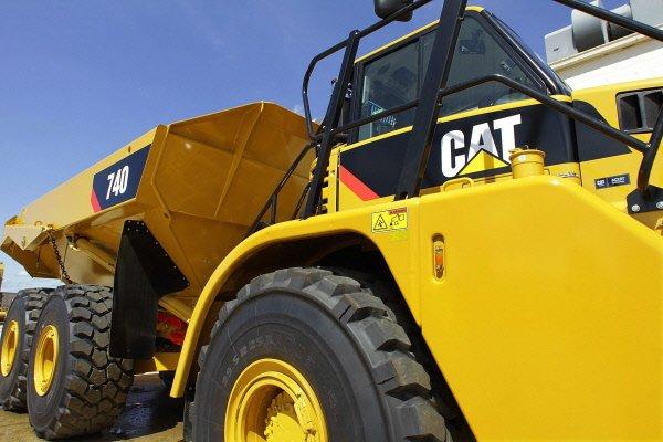Caterpillar a dévoilé mercredi une progression de 29% de son profit du premier...