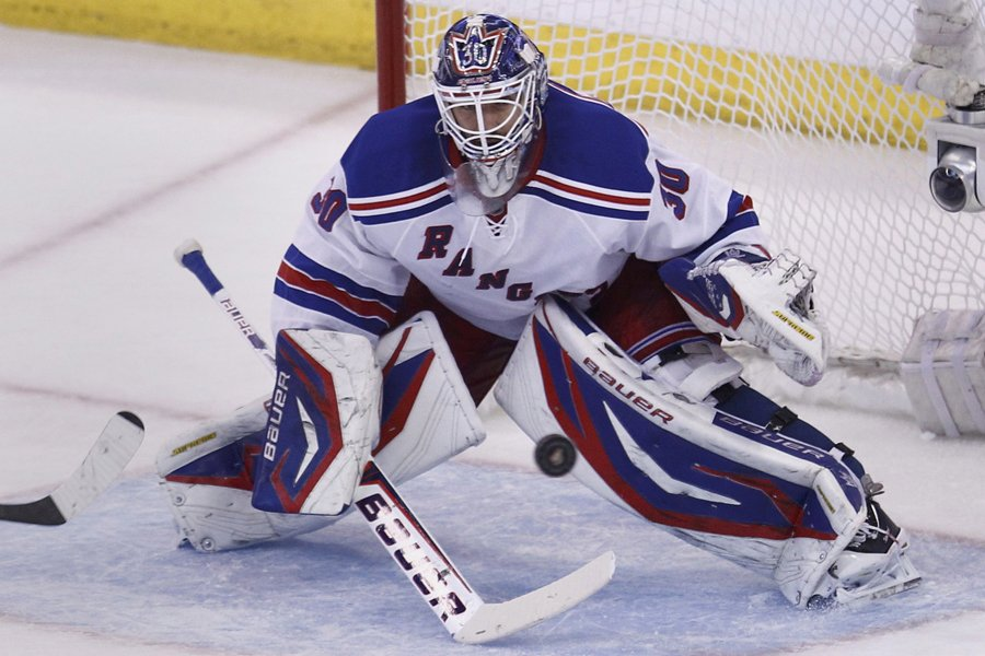 Henrik Lundqvist a signé une prolongation de contrat... (Photo: AP)
