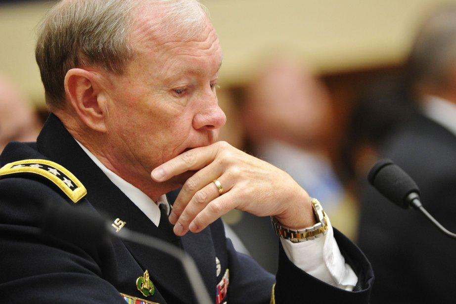 Le chef d'état-major interarmées, le général Martin Dempsey... (Photo: Mandel Ngan, AFP)