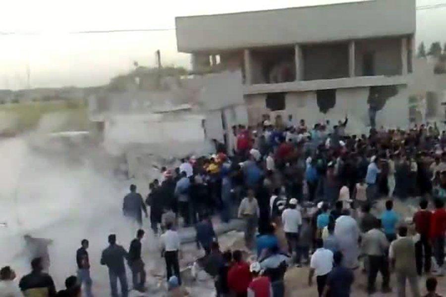 Une vidéo publiée par des militants sur YouTube... (Photo: AFP)