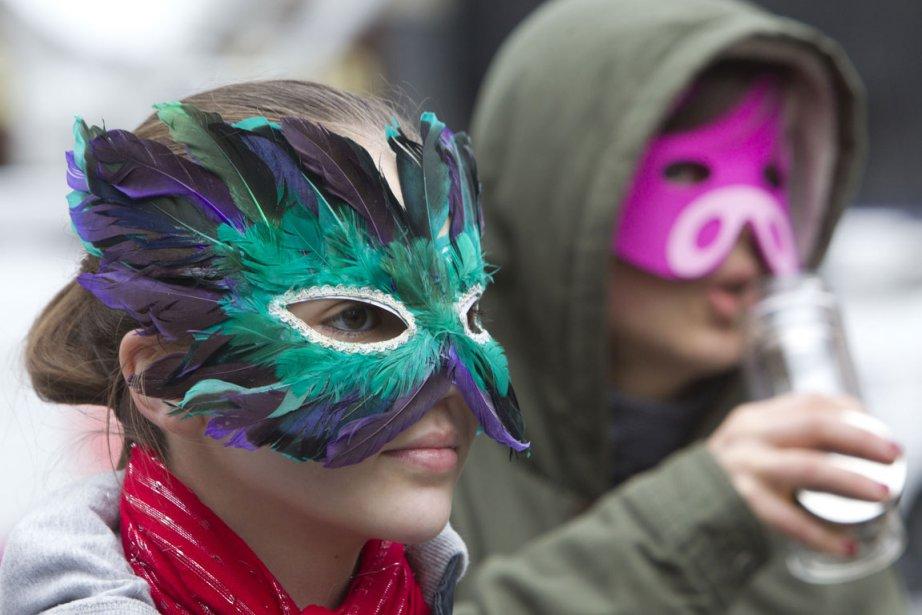 Le 29 mars dernier, des étudiants ont participé... (Photo Robert Skinner, La Presse)