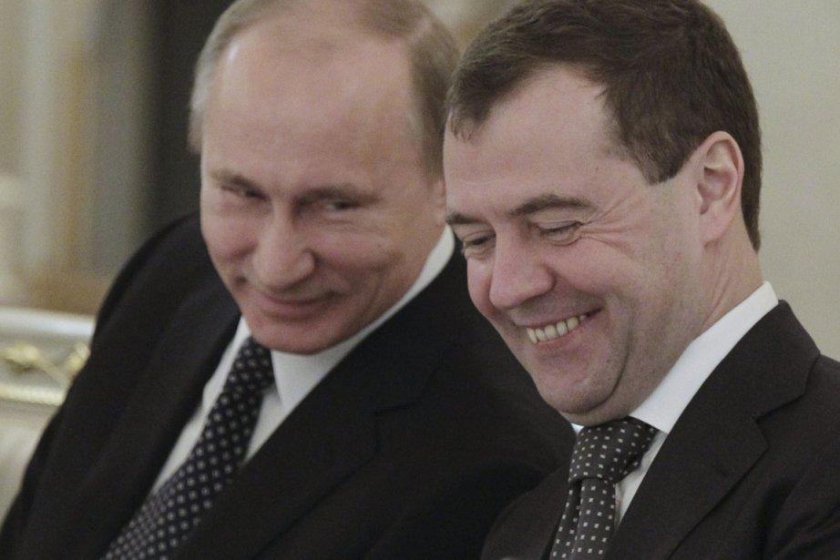«Il me semble qu'il faut se détendre. Tout... (Photo: Mikhail Klimentyev, Reuters)