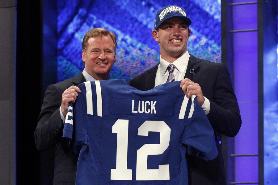 Le commissaire de la NFL Roger Goodell a... (Photo: Reuters)