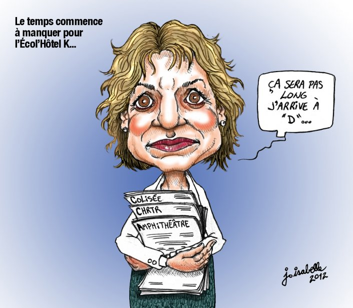 Caricature du 27 avril | 27 avril 2012