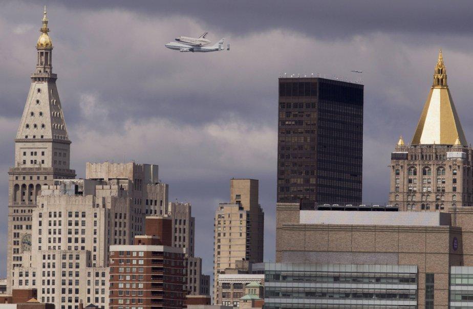 Dernier vol d'Enterprise.... (Photo Reuters)