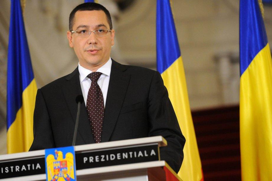 Le chef de l'opposition, Victor Ponta, a affirmé... (Photo : Daniel Mihailescu, AFP)
