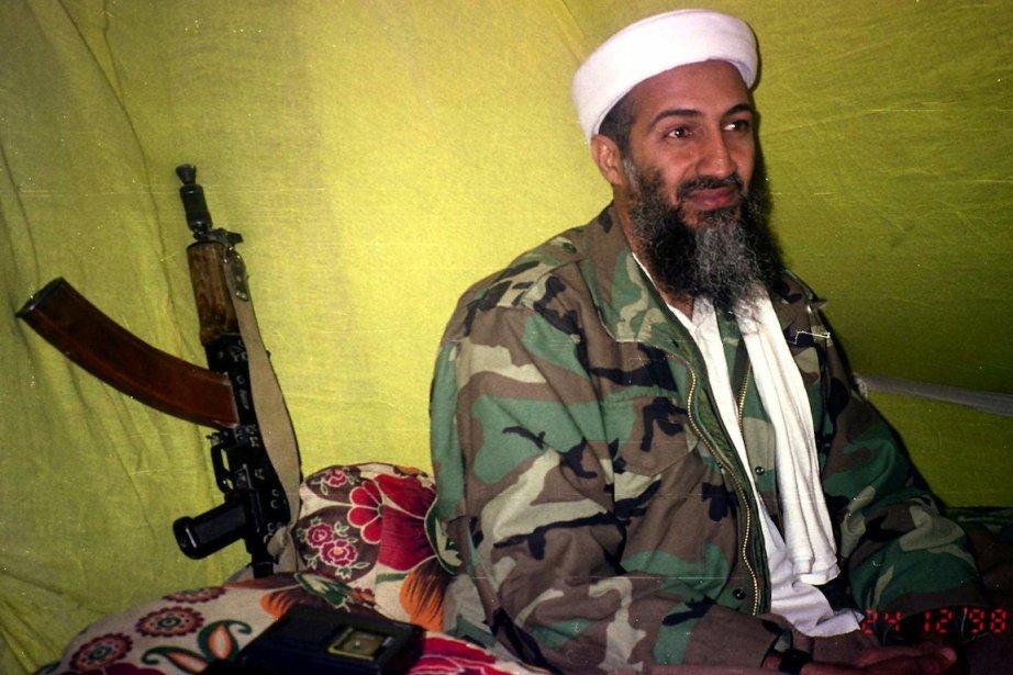 Photo d'Oussama Ben Laden, le 24 décembre 1998.... (Photo AP)