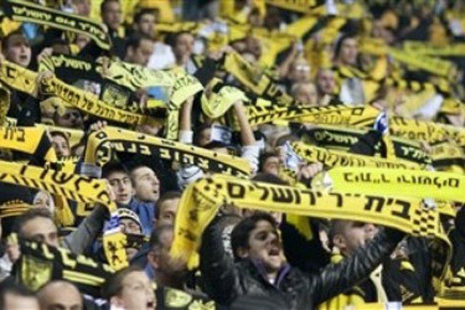 Des partisans du Beitar.... (Photo AP)