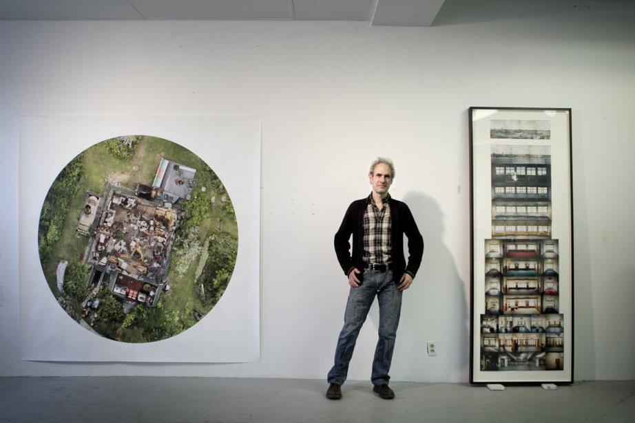 Alain Paiement est connu pour ses oeuvres architecturales... (Photo : Marco Campanozzi, La Presse)