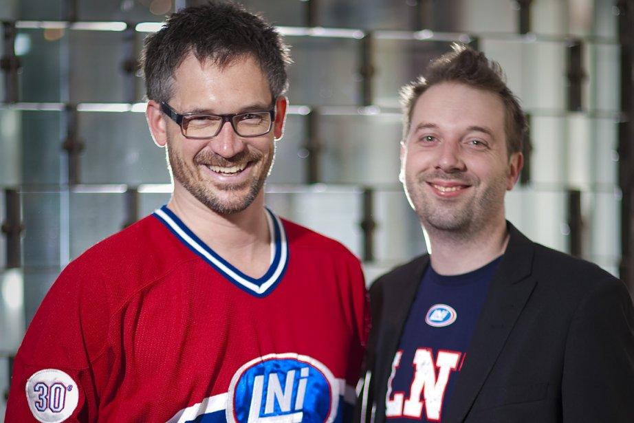 François-Étienne Paré et Étienne St-Laurent.... (Photo: André Pichette, La Presse)