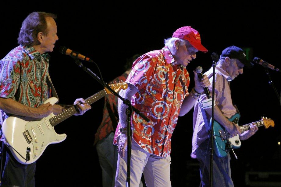 Les Beach Boys à Tucson (Arizona), le 24... (Photo AP)