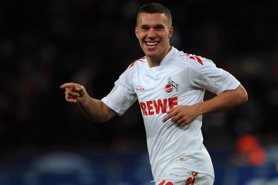 L'attaquant Lukas Podolski quittera Cologne pour se joindre... (Photo: AFP)