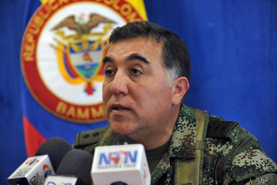 Le général Javier Rey (notre photo) a aussi... (Photo: GUILLERMO LEGARIA, AFP)