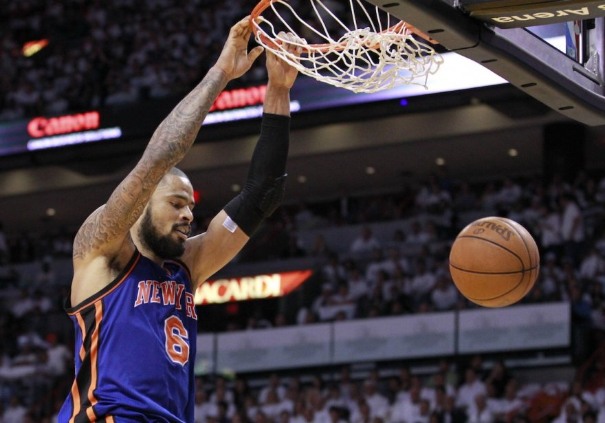 Tyson Chandler... (Photo : Andrew Innerarity, Reuters)